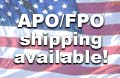 APO/FPO shipping AVAILABLE!