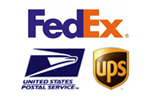 We Ship With UPS, USPS, Fedex