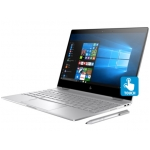 "HP Spectre X360 13T 2-in-1 Laptop (Natural Silver) - Intel Quad-Core i7-8550U 1.80GHz - 16GB RAM - 512GB SSD - Intel UHD Graphics 620 - Webcam - Windows 10 Home - 13.3"" 3840x2160 Touch + Pen"