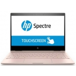 "HP Spectre X360 13T 2-in-1 Laptop (Pale Rose Gold) - Intel Quad-Core i7-8550U 1.80GHz - 16GB RAM - 360GB SSD - Intel UHD Graphics 620 - Win 10 Home - 13.3"" 1920x1080 Touch + Pen"