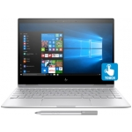 "HP Spectre X360 13T 2-in-1 Laptop (Dark Ash Silver) - Intel Quad-Core i7-8550U 1.80GHz - 16GB RAM - 256GB SSD - Intel UHD Graphics 620 - Win 10 Home - 13.3"" 1920x1080 Touch + Pen"