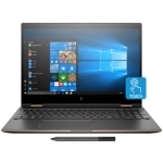 "HP Spectre X360 15-CH011DX (Dark Ash Silver) - Intel Quad-Core i7-8550U 1.80GHz - 16GB RAM - 512GB SSD - Nvidia GeForce MX 150 2GB - Win 10 - 15.6"" 3840x2160 Touch + Pen"