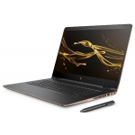 "HP Spectre X360 15-BL108CA (Ash Silver w/ Copper Trim) - Intel Quad-Core i7-8550U 1.80GHz - 16GB RAM - 512GB SSD - Nvidia GeForce MX 150 2GB - Win 10 Home - 15.6"" 3840x2160 Touch + Pen"